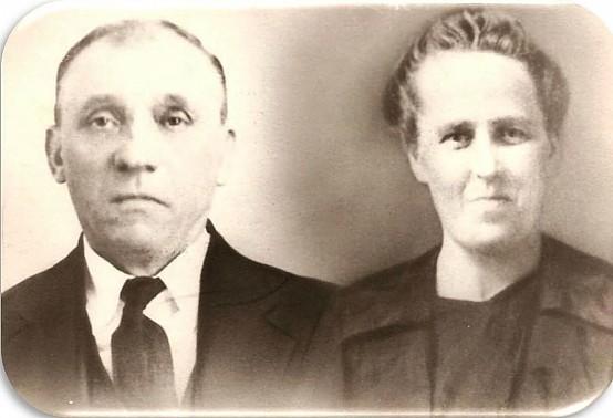 My father +Michael Kapusnak and my mother +Anna Teplicky Kapusnak