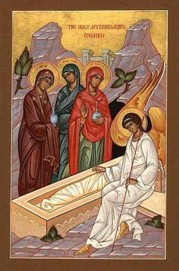 The Holy Myrrh Bearing Women at the Tomb